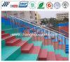 Durable Decorative Polyurea Coating for Stadium Square