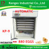 CE Certified New Style Industrisal Chicken Incubator with 98% Hatching Rate (KP-9)