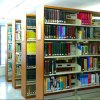 Double-Sided Single Column Library School Bookshelf/Book Shelf/Shelving/Office Furniture