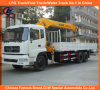8tons 12tons 16tons Heavy Duty Dongfeng 6*4 Truck Mounted Crane