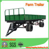 Heavy Capacity Double Axles Farm Trailer in 10tons