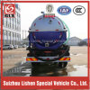 6000L Stainless Steel Sewage Suction Tanker Truck