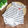 Breathable Print 100% Cotton Stripe Romper, Bodysuit for Baby's