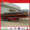 3 Axles 40cbm Asphalt Bitumen Heating Storage Tanker Semi Trailers