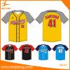 Healong Top Sale Sportswear Customized Sublimation Team Baseball Jersey