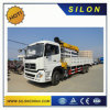 Silon 5t Flodable Boom Truck Mounted Crane with White Color