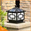 Copper Color LED Pillar Lamp Outdoor Solar Bollard Post Light