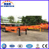 3 Axles Skeleton Semi Trailer for Container Transport