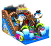 Pirate Ship Standard Slide Bouncy Slide Inflatable Slide
