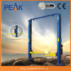 High Quality Manunal Release Clear Floor Two Post Garage Lifter (209C)