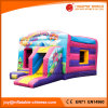 2017 Inflatable Moonwalk Jumping Bouncer with Slide (T3-037)