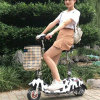 2017 New Design Folding Electric Tricycle Electric Scooter Motorcycle Bike with Ce