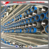 BS1387 Medium Duty Threaded with Sockets Hot DIP Galvanized Round Steel Pipes
