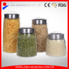 Wholesale Large Glass Food Storage Jar with Plastic Lid