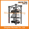 Three Levels Four Post Hydraulic Park Equipment Auto Car Storage 4 3 Floor Car Stacker