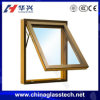 Eco-Friendly 5+9A+5 Galzed Aluminum Top Hung Window