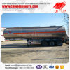 Max Volume 40cbm Tanker Semi Trailer for Flammable Liquids Loading