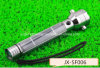 Popular Portable High-Quality Aviation Aluminum Alloy Solar Flashlight (JX-SF006)