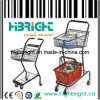 Double Level Shopping Cart with Two Baskets