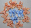 Gingham Ribbon Bow Rb-002