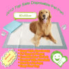 Hot Sale 60*60 Super Absorbent Scented Puppy Training Pads, Pet Pad
