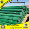 Dark Blue Plastic Coated Steel Tube