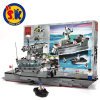 Kids Multiple Patterns Assembly Aircraft Carrier Blocks Toy