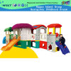 Small Full Plastic Slide Playground Combination Playground Set (M11-09201)