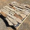 China Natural Sesame Yellow Mixed Rusty Quartzite Loose Stone Wall Panels (SMC-FS048)