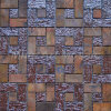 Strip Antique Copper Mosaic with Bronze for Backsplash Tile A6YBC060