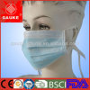 Disposable Medical 3 Ply Non Woven Blue White Face Mask