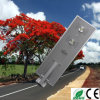 70W LED Hot Summer Customized All in One Solar Street Light Integrated Solar Garden Light