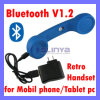 Anti Radiation Bluetooth Handset for iPhone Telephone Tablet PC Wireless V1.2 Receiver Talking (SL-116B)
