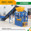 Manual Hollow Block Brick Machine to Make Money Qt4-24