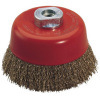Cup Brush with Nut, 65mm, 75mm, 85mm, 100mm, 125mm, 150mm Diameter