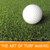 Artificial Turf for Golf Putting Area