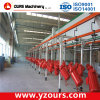 CE SGS ISO Approved Powder Coating Production Line
