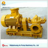 Double Suction Centrifugal Split Case Pump 40 M Head Discharge Flow Electric Water Pump