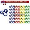 Bobo Novelty Toy Plastic Toys Google Eye Rings 48CT (B6006)