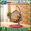 Swing Chair Rattan Swing Seat with Cushion Tgsr-001 Half Moon Swings