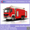 HOWO 6X4 Rhd LHD 18meters High Lift Injection Fire Engine
