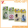 Hot Sale Custom Shape Paper Air Freshener/Car Air Freshener with Paper Card