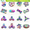 Rainbow Colors Metal Alloy EDC Hand Fidget Spinner High Speed Focus Toy Gifts