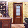 Chinese Style Interiror Frosted Glass Wooden Single Door (GSP3-055)