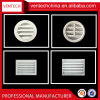 Aluminium Air Diffuser Fixed Blades Return Grille Door Mounted Grilles