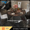 Dining Set Marble Top Round Dining Table