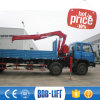 Foldable Arm Dump Truck with Crane Mounted