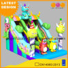 Cheap Price Hot Selling Monster Inflatable Dry Slide (AQ01757)