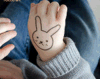 Cute Mashmaro Kid′ S Body Waterproof Temporary Tattoo Stickers