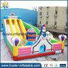 Hot Sale Inflatable Rocket Bouncer Castle with Slide